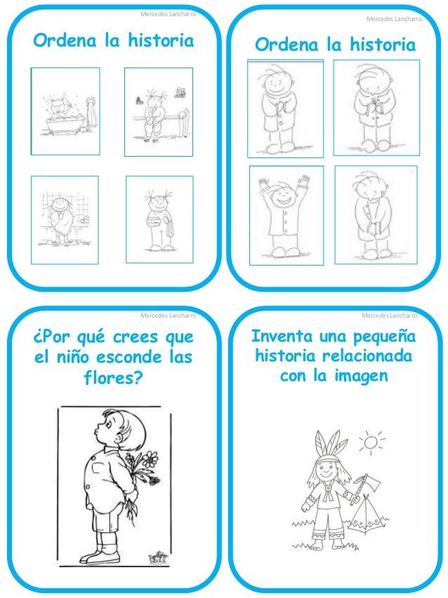 Mercedes Lancharro  Imagina: ¿Quién es la señora que da galletas a los niños?  Mercedes Lancharro  Imagina:  ¿Qué le diría...