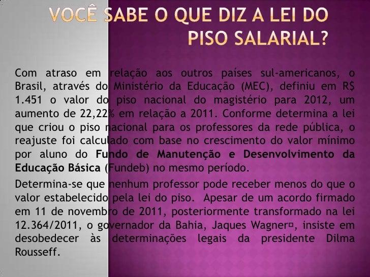 Com atraso em relação aos outros países sul-americanos, oBrasil, através do Ministério da Educação (MEC), definiu em R$1.4...