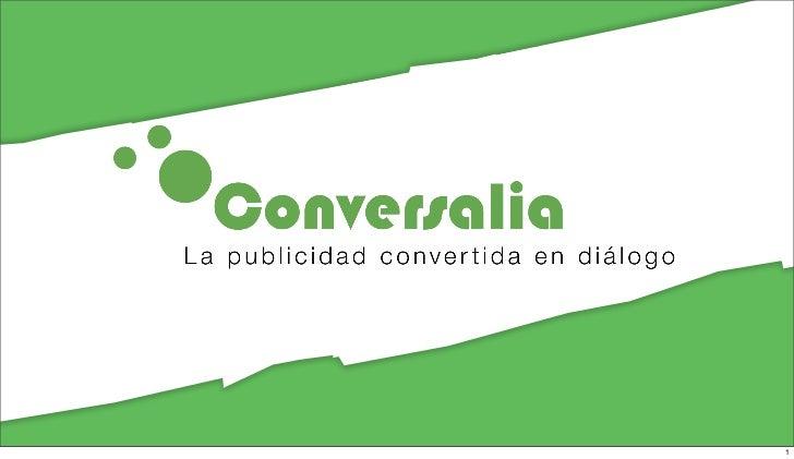 Presentación de Conversalia en Negocio Abierto Comercial por CitMarbella Slide 1