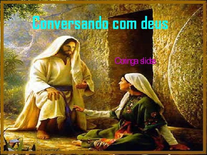 Conversando com deus Coringa  slides