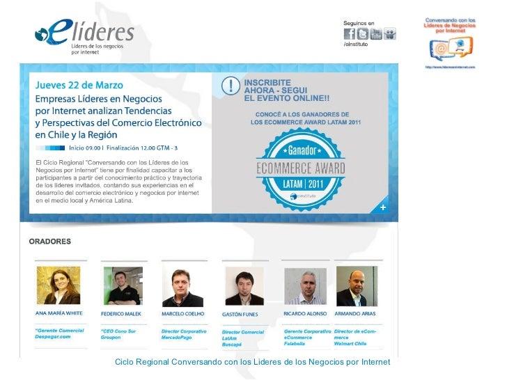 Ciclo Regional Conversando con los Lideres de los Negocios por Internet