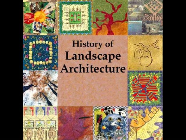 History of landscape india for Garden design history