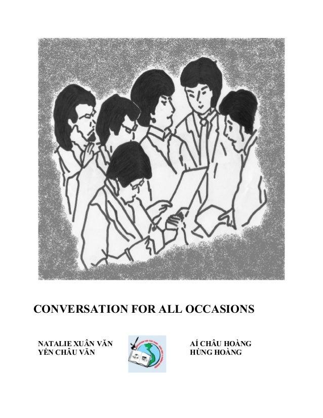 Resultado de imagem para Conversation for all Occasions