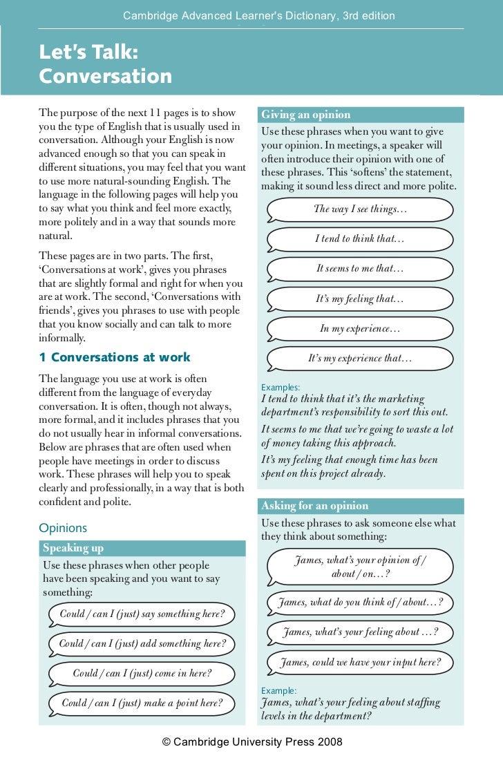 cambridge advanced english learning dictionary
