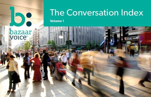 The Conversation IndexVolume 1