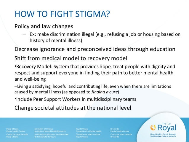 Double Stigma – Family/Caregiver's Feelings • Most people with severe mental illness live with family members. • Ongoing s...
