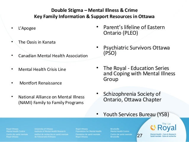 When Mental Illness Leads to Crime: Stigma and Recovery for the Forensic Client