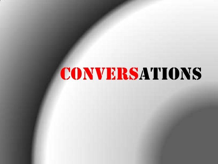 Conversations<br />