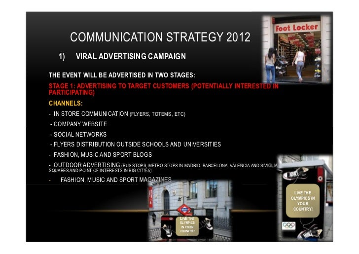 Converse Communication Plan 2012