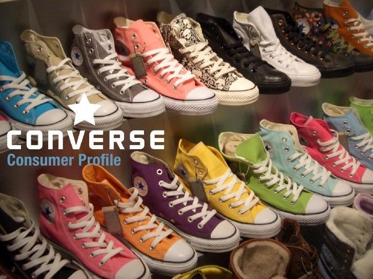 Converse Consumer Profile