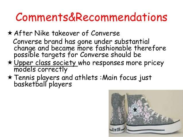 Marketing - Converse Case Study free essay sample - New ...