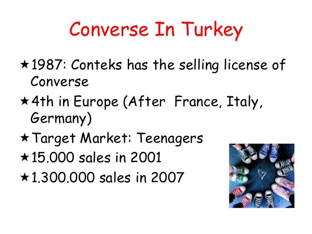 Examples of Marketing Case Study for You: Converse Shoes