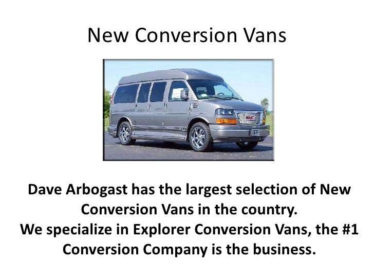 Arbogast Conversion Vans