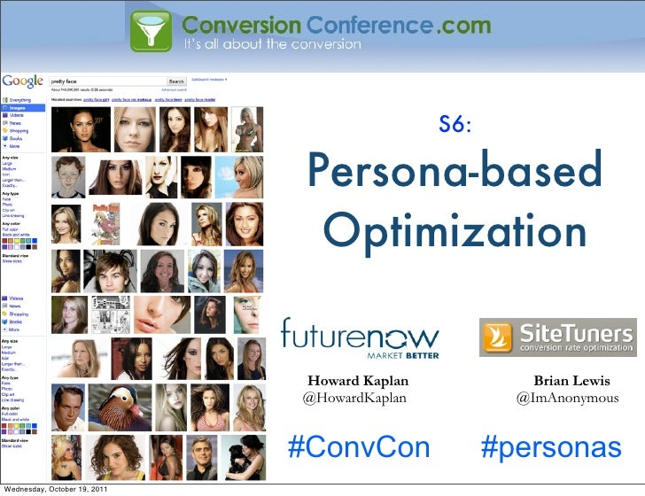 S6:                               Persona-based                                Optimization                              H...