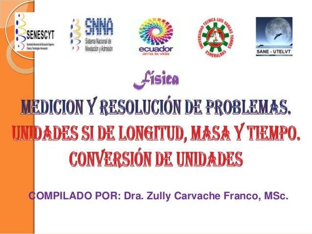 COMPILADO POR: Dra. Zully Carvache Franco, MSc.