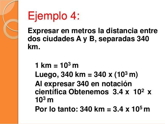 Ejemplo 5: Expresar en segundos, un tiempo de 38 minutos. El factor de conversión entre minutos y segundos lo da la equiva...