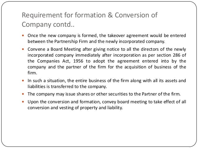 Conversion of firm to llp and pvt ltd co 25 platinumwayz