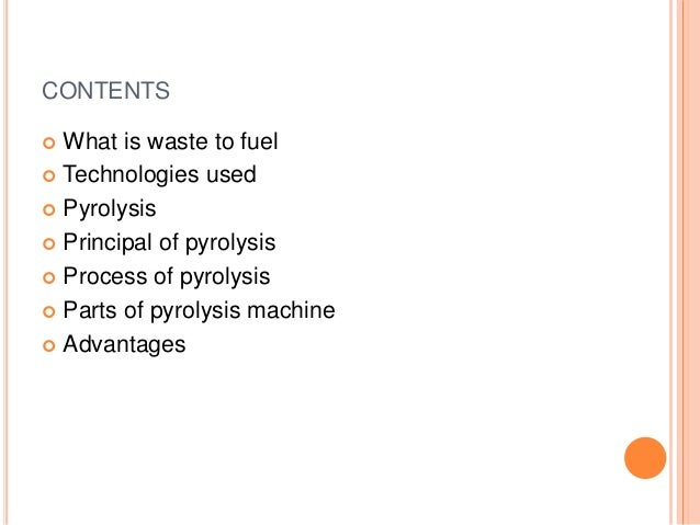 Conversion of waste plastic into fuel