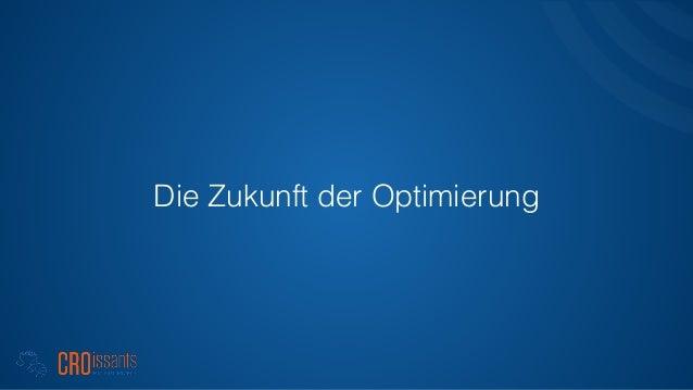 Die Zukunft der Optimierung