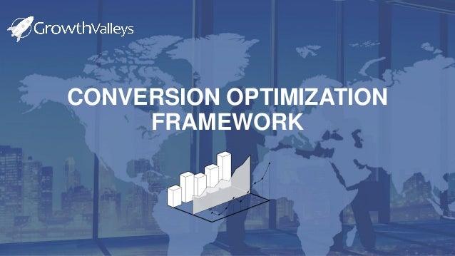 ADVANT Multipurpose Presentation 2017 CONVERSION OPTIMIZATION FRAMEWORK