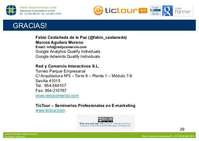 Conversion Thursday Sevilla: ¿adiós al Referrer Spam?