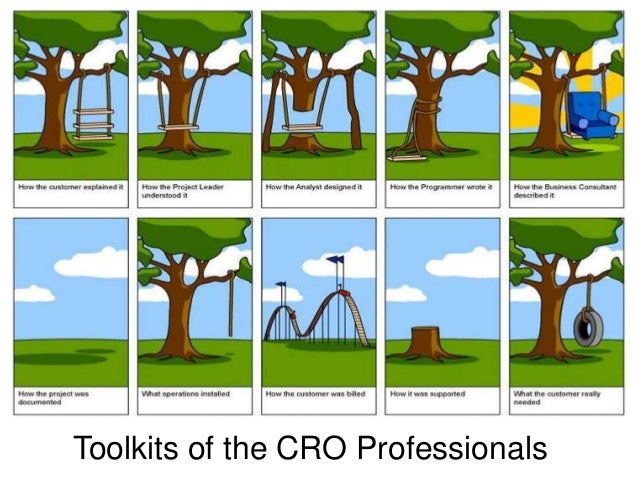 Toolkits of the CRO Professionals