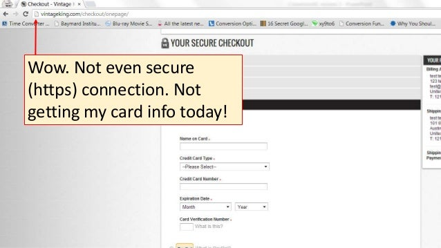 Wow. Not even secure (https) connection. Not getting my card info today!