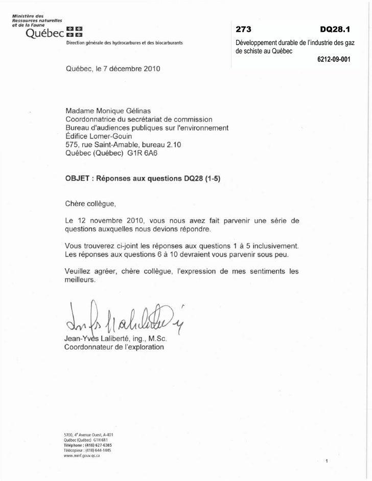 Min istère des Ressources naturelles et de la Faune       Québec::                          Direction générale des hydroca...