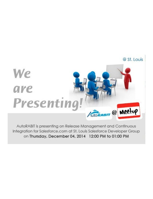 Presenting at St Louis Salesforce Developer Group