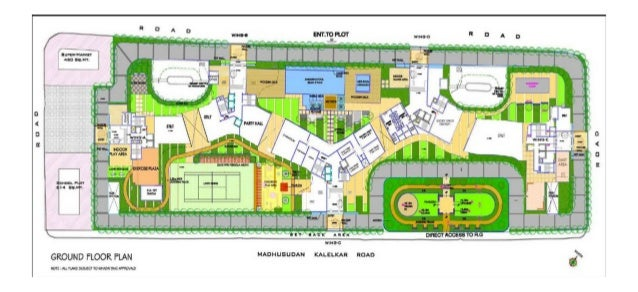 Site Plan Review : Rustomjee seasons bandra east mumbai price list location