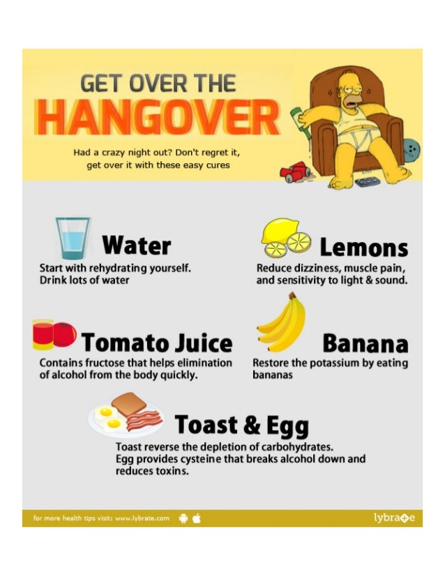 Quickest Way To Cure A Hangover