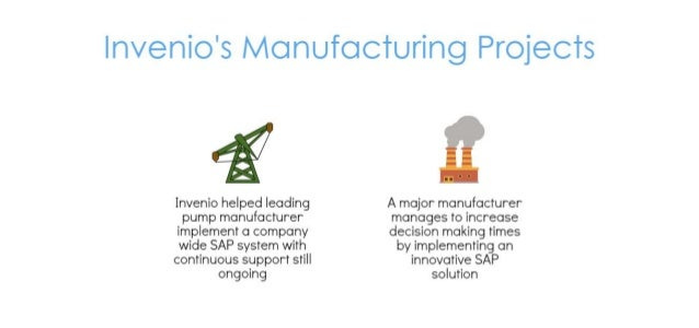 SAP and Manufacturing industry