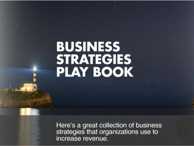 Business Strategies Play Book