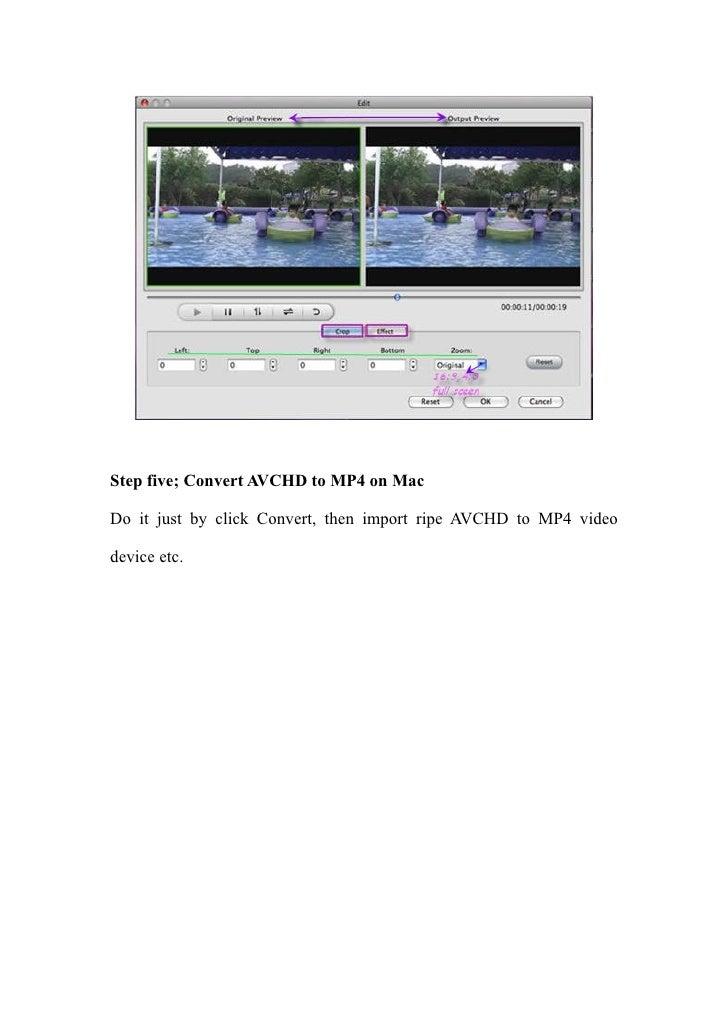 Convert Avchd To Mp4 For Mac123