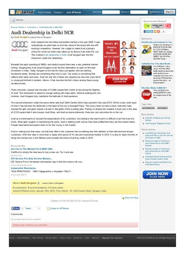 Audi Dealership Near Me >> Audi Dealership In India