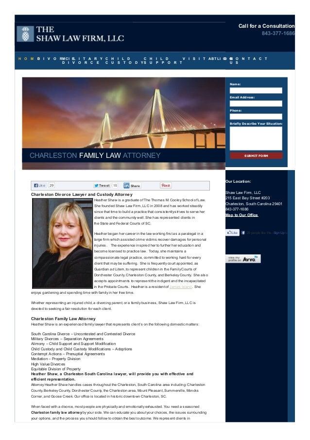 Charleston SC divorce lawyer