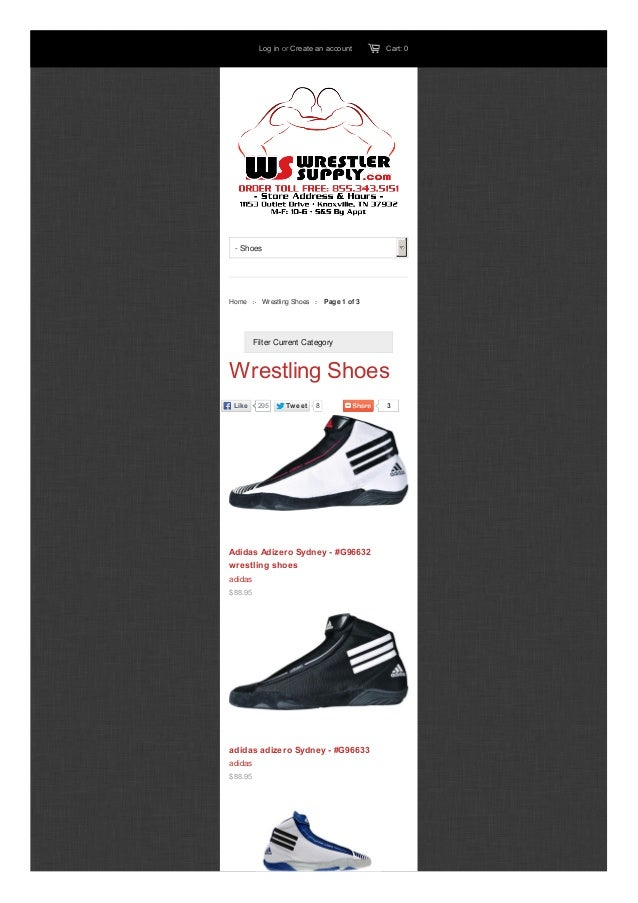 wrestling shoes store near me