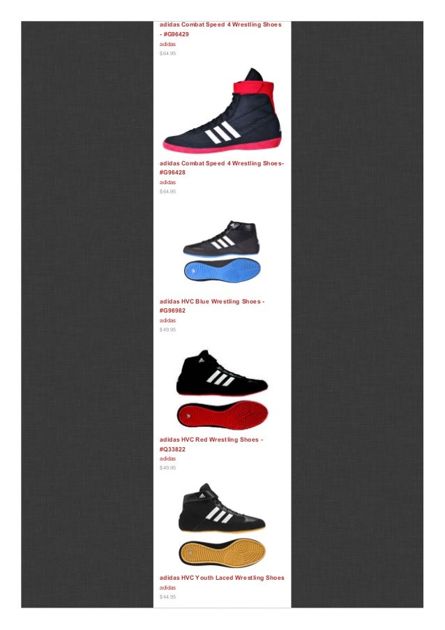 867ea94e63f957 ... Combat Speed 4 Wrestling Shoes -  G96427 adidas  64.95  3. adidas ...