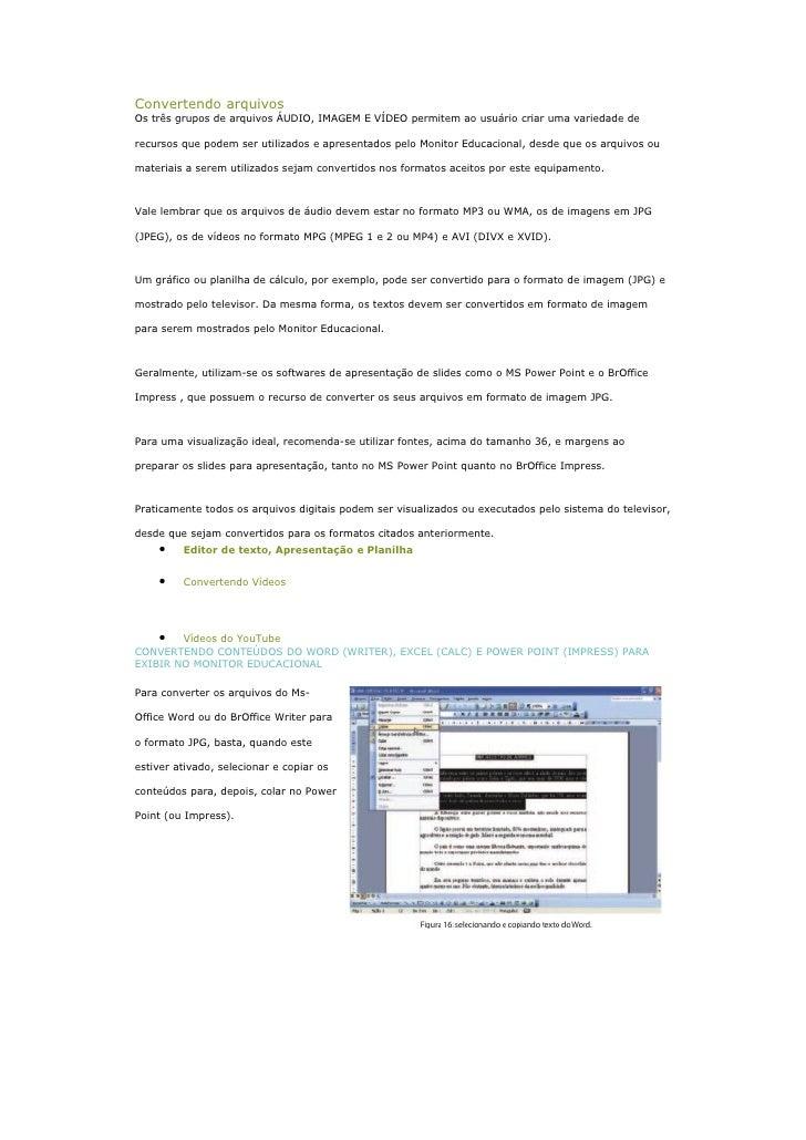 Convertendo Arquivos Antonio Carlos Carneiro Barroso