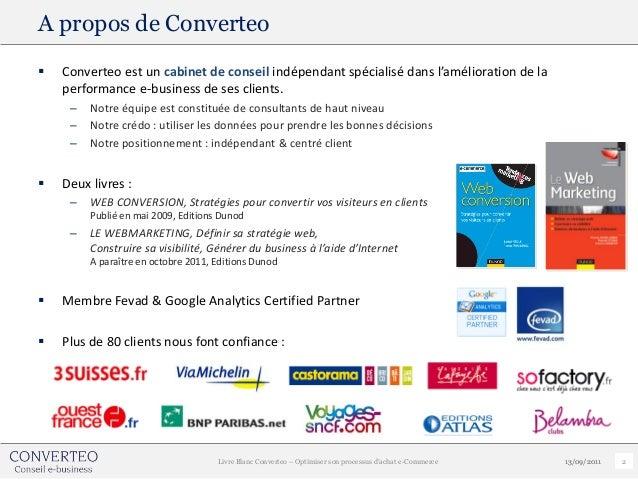 A propos de Converteo   Converteo est un cabinet de conseil indépendant spécialisé dans l'amélioration de la    performan...