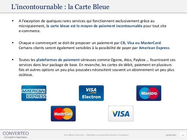 L'incontournable : la Carte Bleue   A l'exception de quelques rares services qui fonctionnent exclusivement grâce au    m...