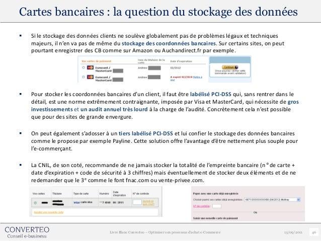 Cartes bancaires : la question du stockage des données   Si le stockage des données clients ne soulève globalement pas de...