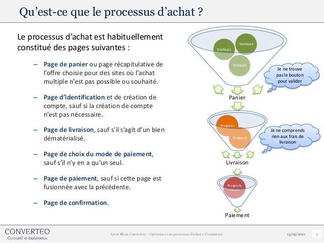 Qu'est-ce que le processus d'achat ?Le processus d'achat est habituellement                                               ...