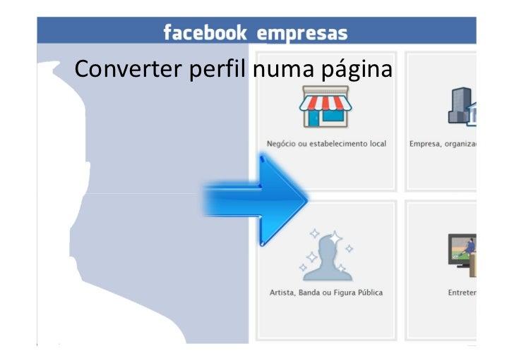 Converter perfil numa páginaConverter perfil em página   Por: www.vascomarques.net   1