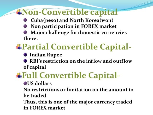 rupee convertibility on capital account
