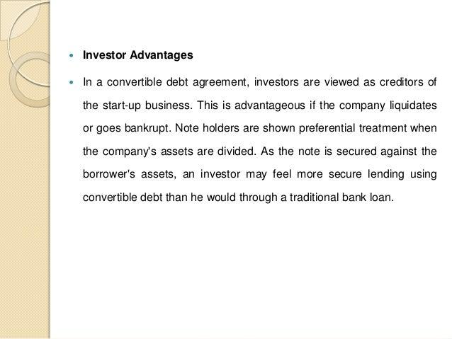 Convertible Debt Agreement