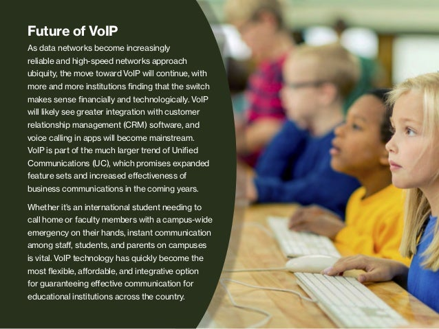 Converting Campus Phone Systems to VoIP