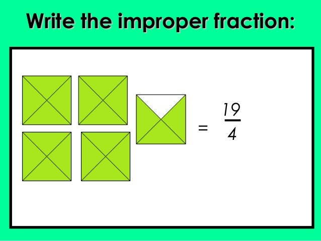 how to change a fraction into a mixed number