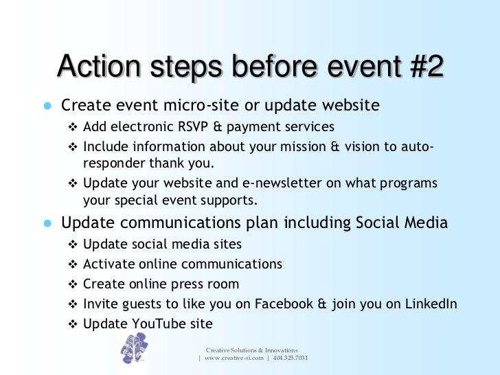 how to make an event program