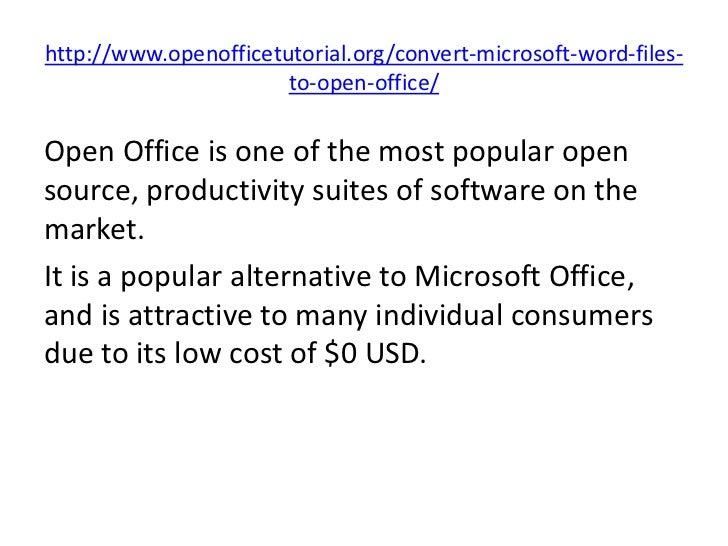 how to open odt file in ms word